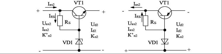 Расчетная схема стабилизатора